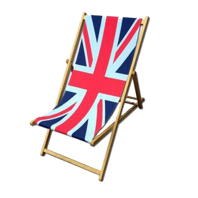 A Very British Picnic Chair